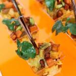 Cashew Pumpkin Curry over Jeweled Rice